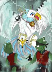 Bs: Thunderbird of legend by QueenSolaris