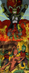 The wrath - the fight - the end by QueenSolaris