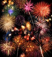 fireworks by PeaceAndLove96
