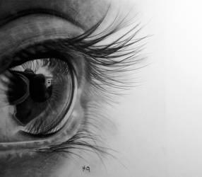 eye drawing 4 by hg-art