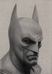 Batman drawing by hg-art