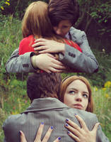 I hate goodbyes - Doctor Who by arsidoas