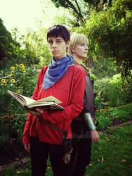 Secrets - Arthur and Merlin by arsidoas
