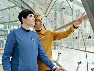 Fascinating - Kirk und Spock by arsidoas
