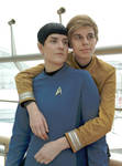 My T'hy'la - Kirk and Spock by arsidoas
