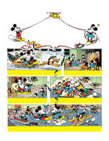 Mickey Mouse Restored Christmas Page by jongraywb