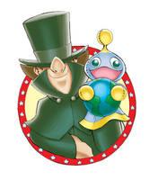 Wentos the Traveling Salesman by jongraywb