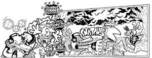 Off Panels: Sonic Universe #46 (Unused) by jongraywb
