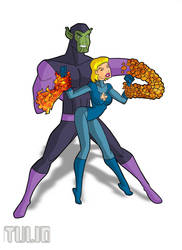 Sue and the Superskrull by TULIO19mx