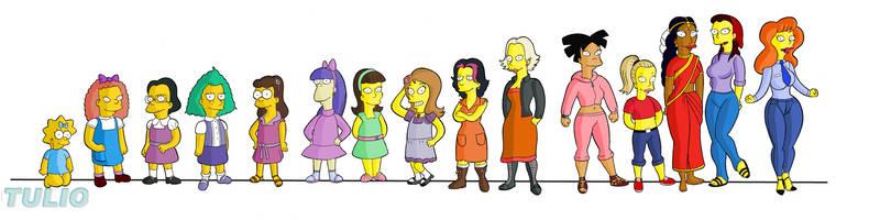 Simpsonettes 2 by TULIO19mx
