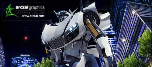 Autobot Transformer by arczai
