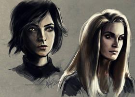Alice and Rosalie by alicexz