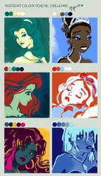 Color scheme challenge by alicexz
