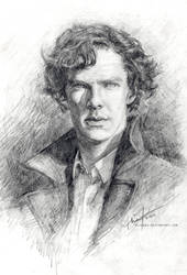 Sherlock I by alicexz