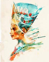 Nefertiti by alicexz