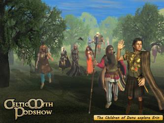 Children of Danu explore Erin by Silverwolf2006