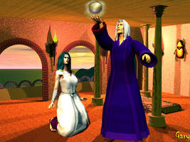 Raistlin and Crysania by Silverwolf2006