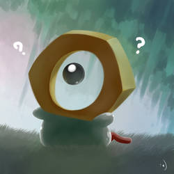 891 - Meltan by aquabluu
