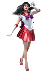 Sailor Mars by exokinetic
