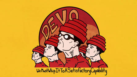 Whipping It With DEVO by KatChambers