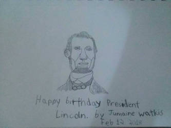 Happy Birthday Abraham Lincoln by Creator2378