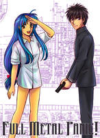 Full Metal Panic Colored by Eunice-P