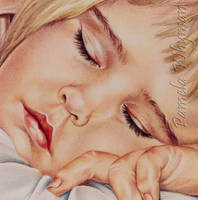 Michelle Sleeping...Portraits by LightCircleArt