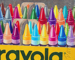 Crayolas...Still Life by LightCircleArt