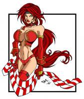 Red Monika by mariamcardoso