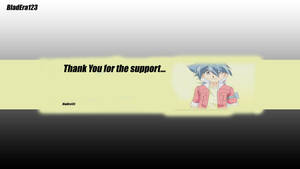 Thank You Channel Art by BladEra123