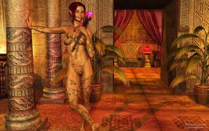 Kara the Dark Mage by Dendory