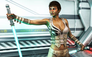Jedi Girl by Dendory
