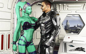 Undercover Twi'lek Agent by Dendory