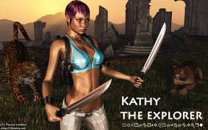 Kathy the explorer by Dendory