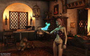 The Sorceress by Dendory