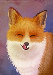 Fox by JuliaLisitsina