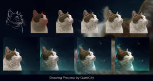 Neighbor - Drawing Process by QuietCity
