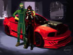 KICK-ASS: The Mist mobile by Ricken-Art