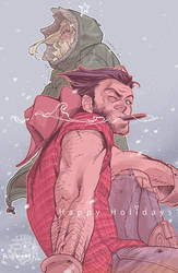Happy Holidays by Ricken-Art