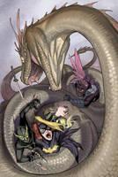 [Birds of Prey #22] Cover art by Ricken-Art