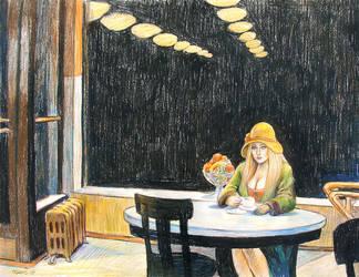 Lonely Girl by odavis