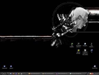 desktopz + window blinds+skin by angelZ666