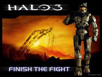 Halo 3 Wallpaper by kornkidcrazy