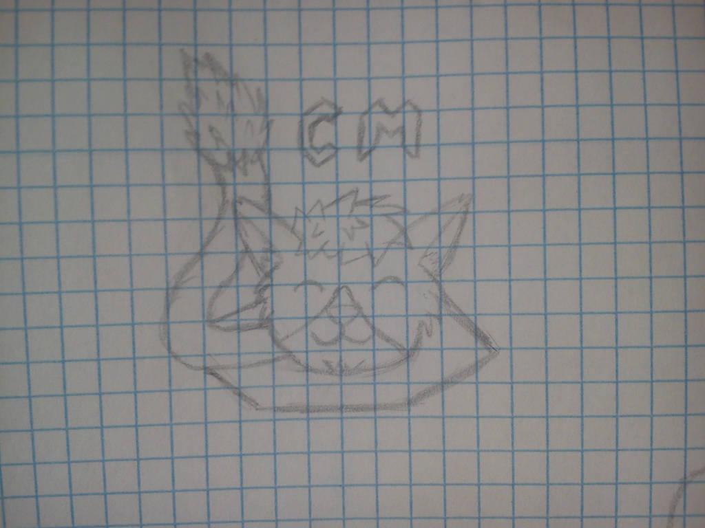My logo! (sketch) by jdragon567