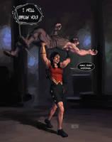 Wonder Woman redesign by Biram-Ba