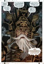 Odin by Jack Kirby-colors by Biram-Ba