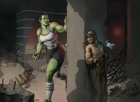 She-Hulk 6 by Biram-Ba
