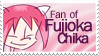 Stamp - 03 - Fan of Fujioka Chika by nicolasbahamondes