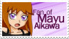 Stamp - 08 - Fan of Mayu Aikawa by nicolasbahamondes