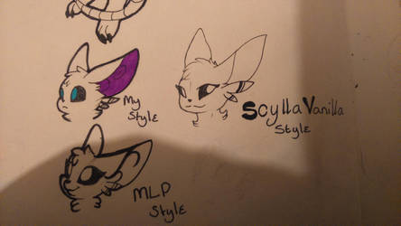 KK: Style challenge by Quruxea
